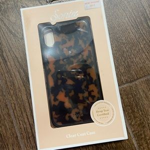 Sonix iPhone XS tortoise shell case